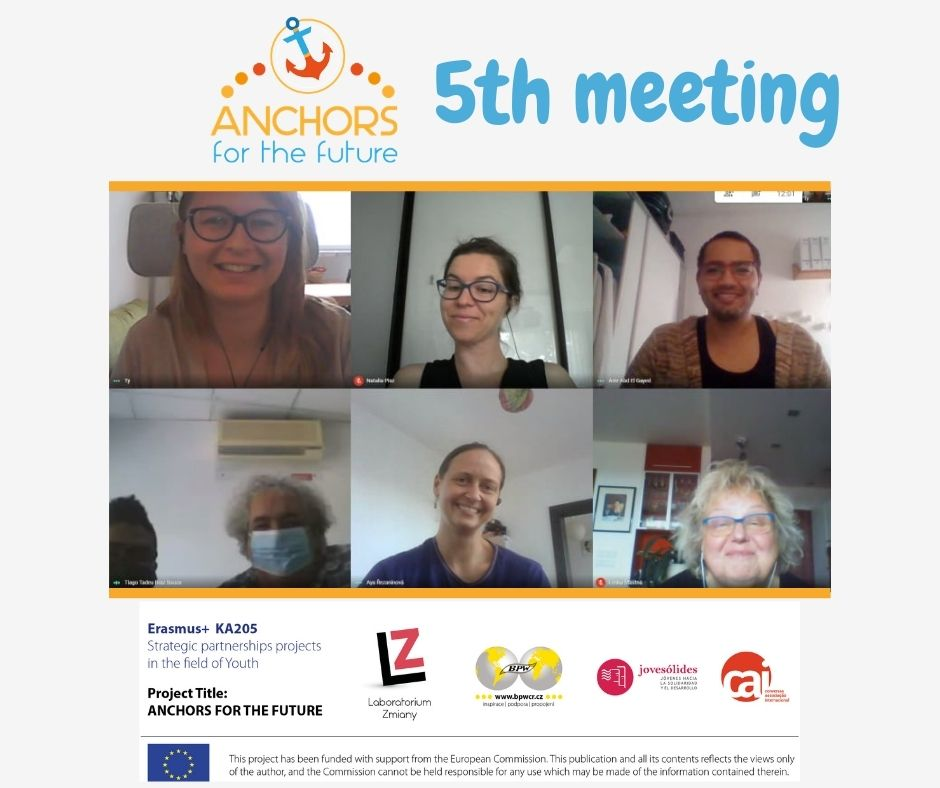 5th online meeting of partners